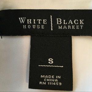 White House Black Market Tops - [WHBM] Metallic Sleeveless Top